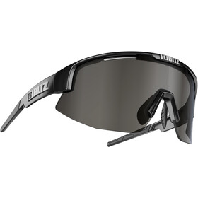 Bliz Matrix M12 Bril, shiny black/smoke